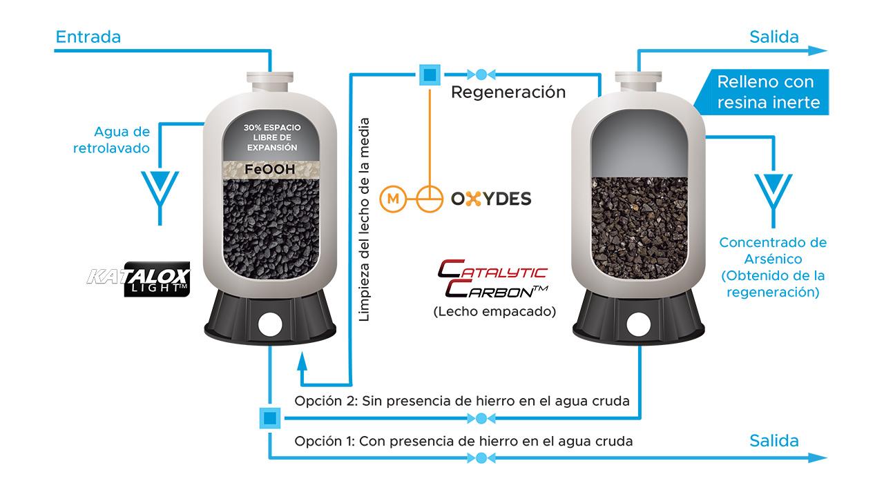 Adsorción – Catalytic Carbon