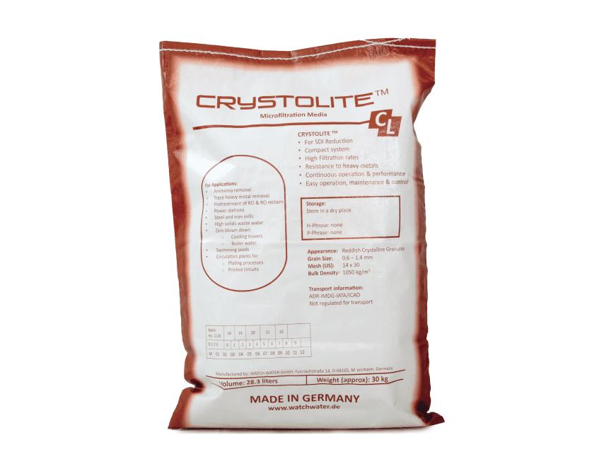 Filtración – Crystolite